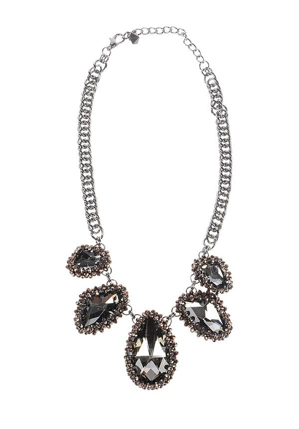 Selected Femme Stan Necklace - Halskette für Damen - Schwarz