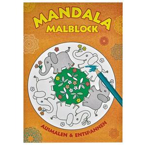 Rossmann Ideenwelt Mandala Malblock