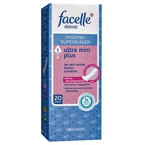facelle diskret Hygiene-Slipeinlagen ultra mini plus
