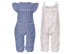 LUPILU® PURE COLLECTION Baby Mädchen Jumpsuit