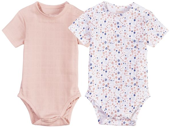 LUPILU® PURE COLLECTION Baby Mädchen Body