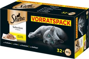 Sheba Selection in Sauce Multipack 32x85g