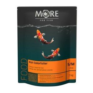 MORE FOR FISH Koi Farbfutter 2mm