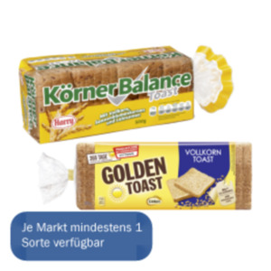 Golden Toast oder Harry Toast