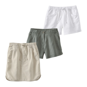 UP2FASHION  	   Leinen-Baumwoll-Rock / -Shorts