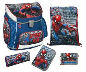 Spider-Man CAMPUS UP Schulranzen Set 5-teilig