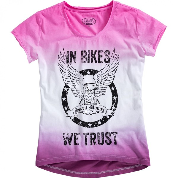Spirit Motors            T-Shirt 1.0 rosa