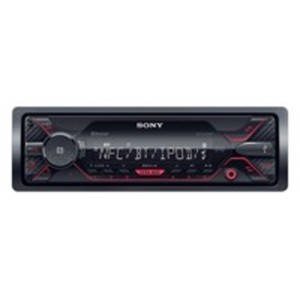 Sony DSX-A410BT Autoradio mit Bluetooth, Front-USB-/AUX-Eingang, NFC-Technologie, Android-/iPhone-/iPod-Steuerung, 1-DIN
