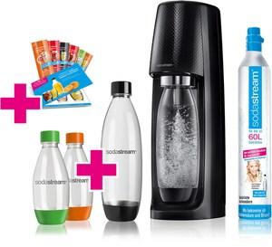 SodaStream Easy Vorteilspack Trinkwasser-Sprudler schwarz