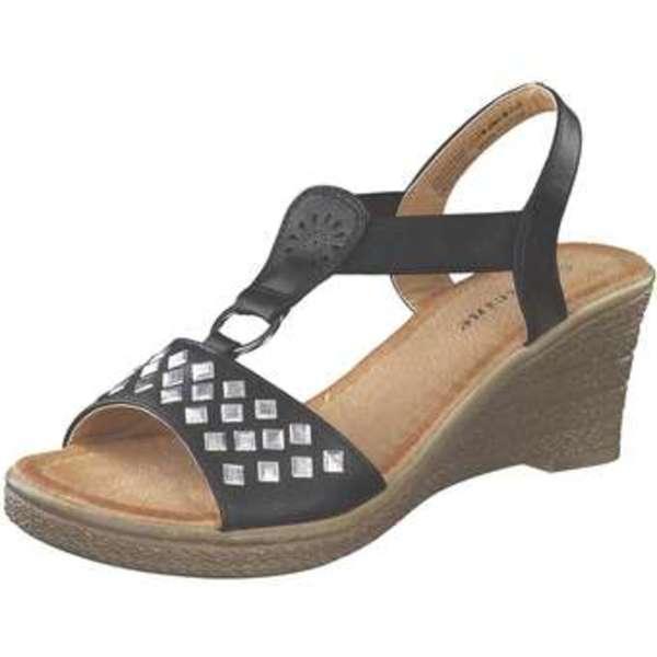 5895c5e8e91d Sylvine keilsandale Damen schwarz von Siemes für 18,00 € ansehen ...