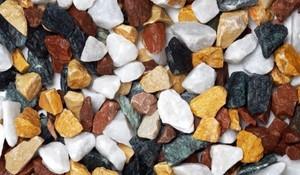 Bellamoli Gestaltungssplitt Foresta Nera ,  Marmor Splitt, 8 - 16 mm