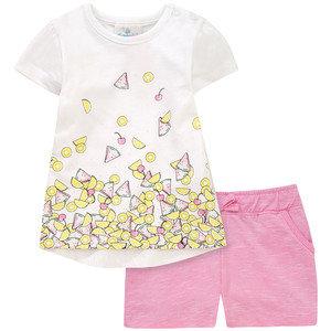 Baby T-Shirt mit Shorts im Set
