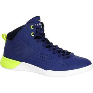 TARMAK Basketballschuhe Strong 300 II Erwachsene blau/gelb, Größe: 43