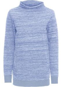 Long-Sweatshirt mit Taschen