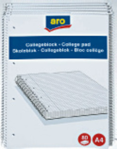 Collegeblock 10er-Set