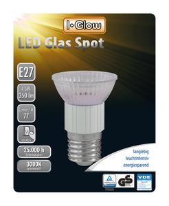 I-Glow LED Leuchtmittel Spot E27 10er-Pack