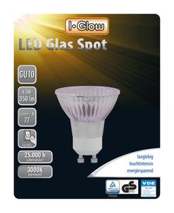 I-Glow LED Leuchtmittel Spot GU10 10er-Pack