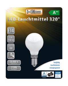 I-Glow LED Leuchtmittel Mini Globe E14 5er-Pack