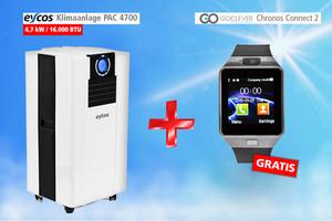 Eycos Klimaanlage PAC 4700X + Gratis Smartwatch