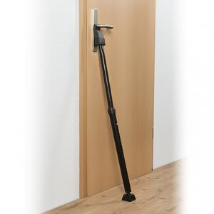 EASYmaxx Security Tür-Sicherungsstange schwarz