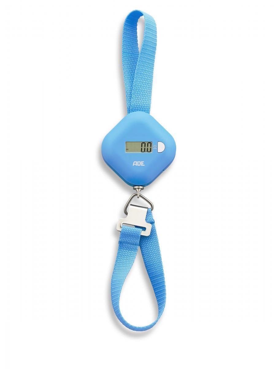 """Bild 1 von ADE digitale Kofferwaage """"Finn"""" blau"""