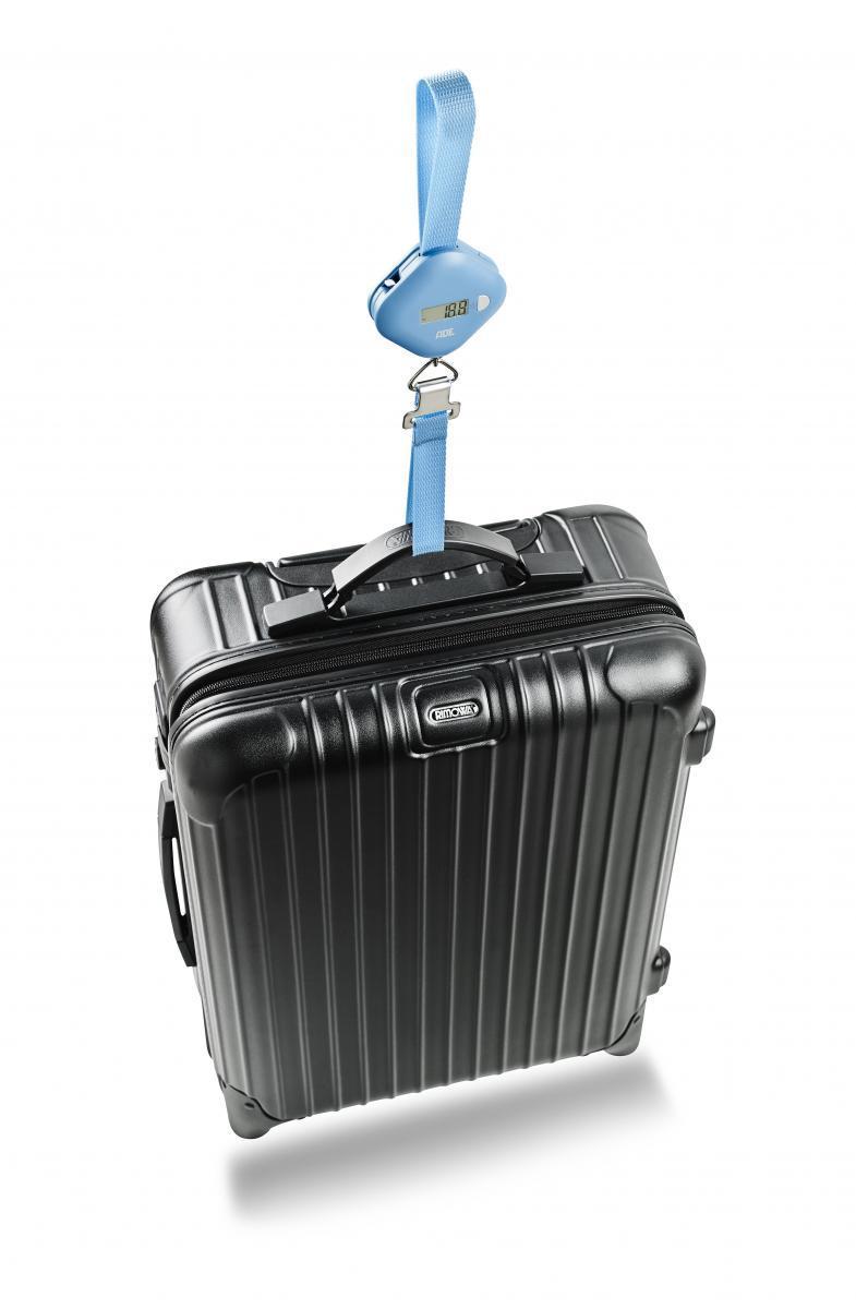 """Bild 2 von ADE digitale Kofferwaage """"Finn"""" blau"""