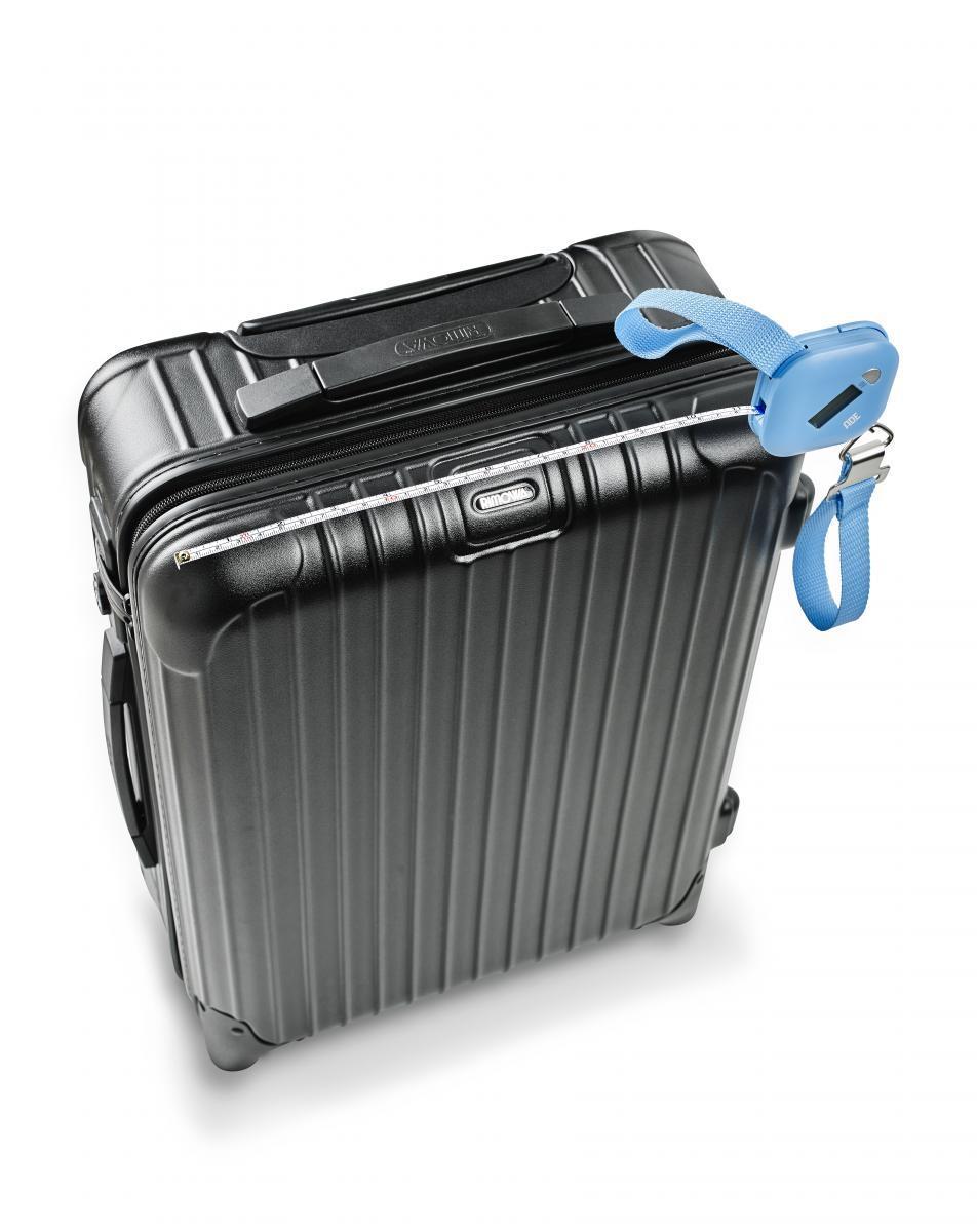 """Bild 3 von ADE digitale Kofferwaage """"Finn"""" blau"""