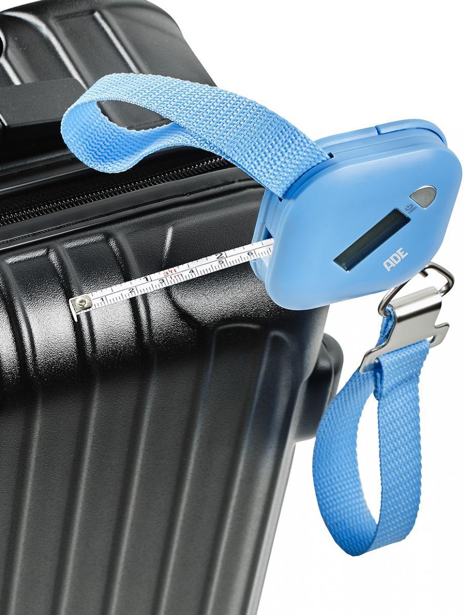 """Bild 4 von ADE digitale Kofferwaage """"Finn"""" blau"""