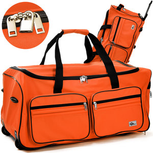 Deuba Große Reisetasche 85L orange