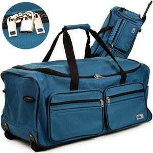 Deuba Große Reisetasche 85L hellblau