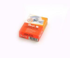Peach Laminierfolien Gepäck-Anhänger gelocht, 125 mic, glänzend, PP525-11, 100 Stk.