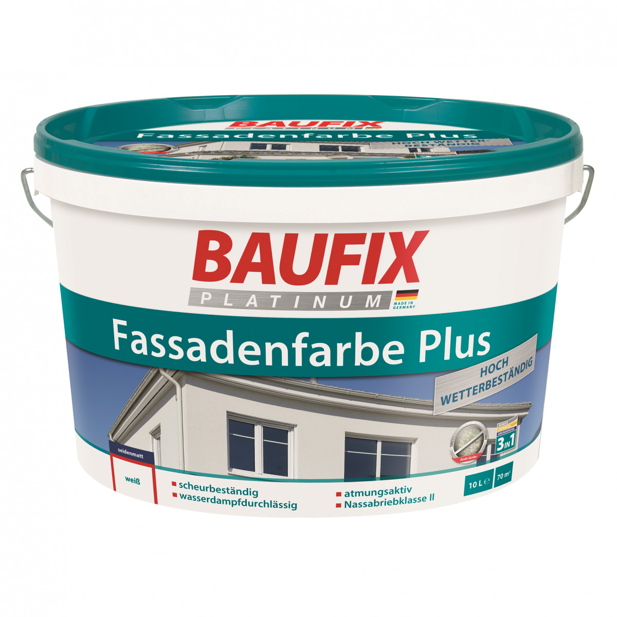 Bild 1 von BAUFIX Platinum FASSADENFARBE PLUS