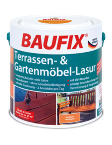 Baufix Terrassen- & Gartenmöbel-Lasur teak