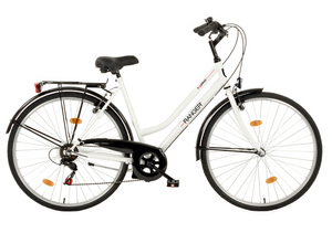 "Ranger Touring City 6-Gang, 28"", Damen, Weiß"