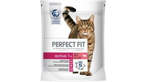 PERFECT FIT KATZE Trockenfutter ACTIVE 1+ Reich an Rind