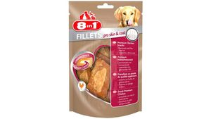 8in1 Hundeleckerli, Fillets Pro Skin&Coat