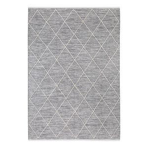 Teppich Pantin - Baumwollstoff - Lichtgrau - 170 x 240 cm, Luxor living
