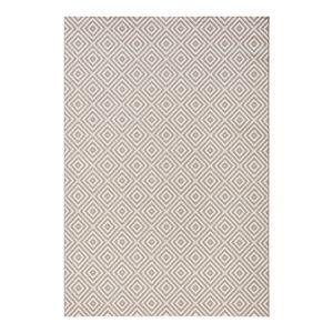 In-/Outdoor-Teppich Karo - Kunstfaser - Grau - 200 x 290 cm, Top Square