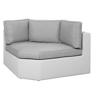 Gartenecksofa Kuba - Ergotex - Weiß, Best Freizeitmöbel