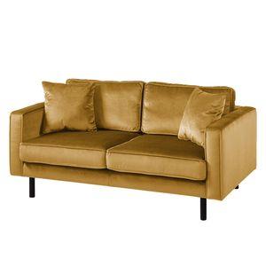Sofa Edina Samt (2-Sitzer) - Honig, Eva Padberg Collection