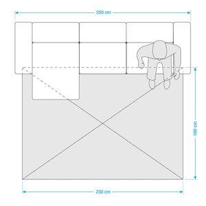 Teppich Relaxx - Kunstfaser - Rostbraun - 160 x 230 cm, Esprit Home