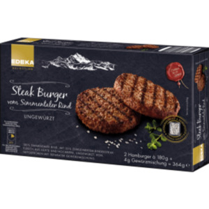 EDEKA Selection Steak Burger