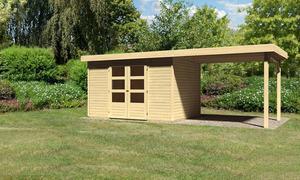 Karibu Gartenhaus Alfeld 4 im Set 2,80m