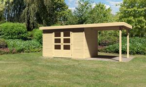 Karibu Gartenhaus Alfeld 4 im Set 2,40m