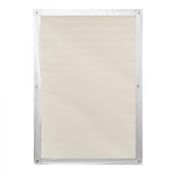 Lichtblick Dachfenster Sonnenschutz Haftfix, ohne Bohren, Verdunkelung, Beige, 47 cm x 91,5 cm (B x