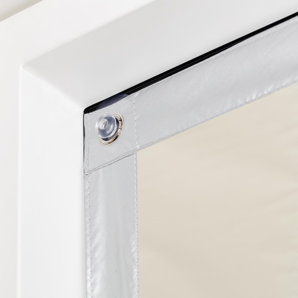Bild 3 von Lichtblick Dachfenster Sonnenschutz Haftfix, ohne Bohren, Verdunkelung, Beige, 47 cm x 91,5 cm (B x