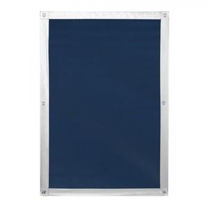 Lichtblick Dachfenster Sonnenschutz Haftfix, ohne Bohren, Verdunkelung, Blau, 94 cm x 113,5 cm (B x