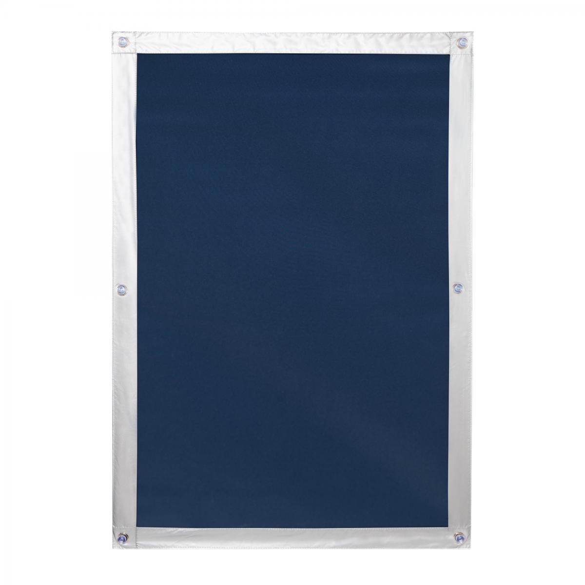 Bild 1 von Lichtblick Dachfenster Sonnenschutz Haftfix, ohne Bohren, Verdunkelung, Blau, 36 cm x 71,5 cm (B x L