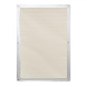 Lichtblick Dachfenster Sonnenschutz Haftfix, ohne Bohren, Verdunkelung, Beige, 59 cm x 91,5 cm (B x
