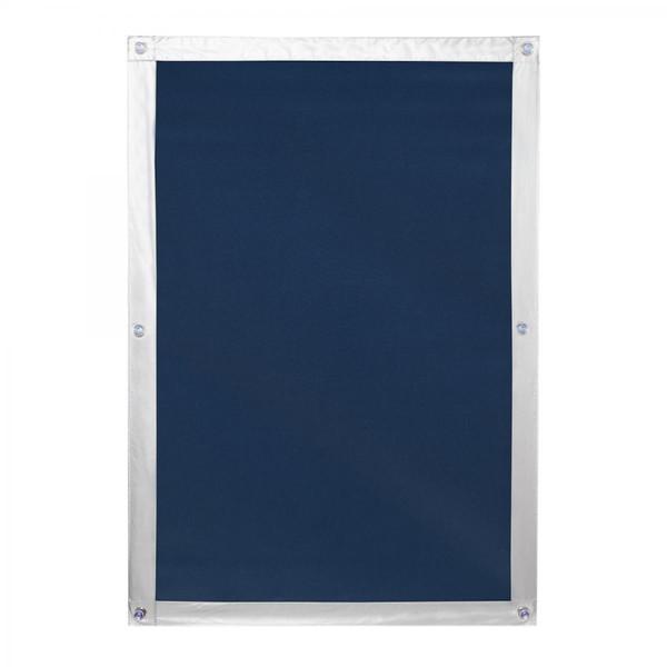 Lichtblick Dachfenster Sonnenschutz Haftfix, ohne Bohren, Verdunkelung, Blau, 36 cm x 56,9 cm (B x L